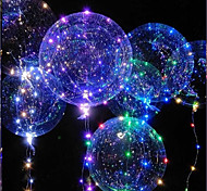cheap -LED Lighting LED Bubble balloon Toys Holiday Birthday Glow in the Dark New Design Kid's Adults' 1pcs Pieces