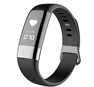 cheap -Smart Bracelet Waterproof Pedometers Exercise Record Message Reminder Call Reminder Calorie Counters Camera Control Passometer Pedometer