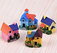 baratos -Tema Fadas Casas Tema vintage Resina Desenho,Único Acessórios decorativos