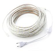 cheap -12M/1PCS  220V 5050 LED Flexible Tape Rope Strip Light Xmas Outdoor Waterproof   Garden outdoor lightingEU Plug EU