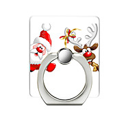 cheap -Santa Claus Tree Pattern Cell Phone Ring Stand Holder for Phone