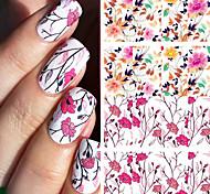 preiswerte -geboren ziemlich hübsch blume nail art wasserabziehbilder bp-w04 transfer nagel aufkleber nail art dekorationen