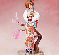 baratos -Figuras de Ação Anime Inspirado por Vocaloid Sakura Miku PVC CM modelo Brinquedos Boneca de Brinquedo Unisexo