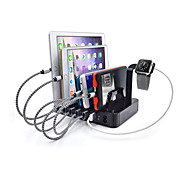 cheap -USB Charger 6 Ports Desk Charger Station With Switch(es) Stand Dock Charging Adapter