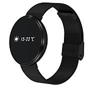 Недорогие -смарт-браслет b10 мужская женщина стальная полоса bluetooth приложение / здоровый сердечный ритм / быстрая зарядка для ios android