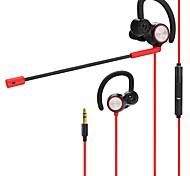 cheap -v6 In Ear Wired Headphones Dynamic PVC (Polyvinylchlorid) PEVA Gaming Earphone Dual Drivers Headset