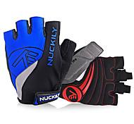 Недорогие -Nuckily Спортивные перчатки Перчатки для велосипедистов Отражение Пригодно для носки Дышащий Износостойкий Защитный Ударопрочность Без