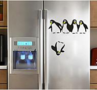 Недорогие -Абстракция Животные Наклейки 3D наклейки Декоративные наклейки на стены Наклейки на холодильник, Бумага Украшение дома Наклейка на стену