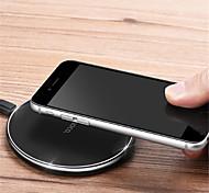 Недорогие -Беспроводное зарядное устройство Телефон USB-зарядное устройство USB Беспроводное зарядное устройство 1 USB порт 1A iPhone X Для
