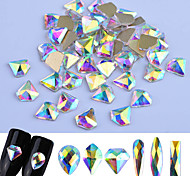 abordables -Paillettes / Bijoux à ongles Nail Glitter / Mode / Brille & Scintille Quotidien Nail Art Design