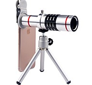 cheap -Mobile Phone Lens Long Focal Lens 18X Macro 3m 70 Lens with Stand