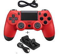 cheap -New Game Controller Wired Gamepad Controller Joystick Gamepads with Dual charger for PS4