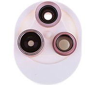 cheap -Mobile Phone Lens Lens with Filter / Fish-Eye Lens / Wide-Angle Lens 15X 0.1m 198 High Definition / Adjustable / Fisheye Lens