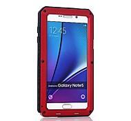 preiswerte -Hülle Für Samsung Galaxy Note 8 Note 5 Stoßresistent Ganzkörper-Gehäuse Rüstung Hart Metal für Note 8 Note 5 Note 4 Note 3
