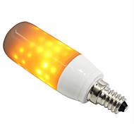 cheap -1pc 3W 250-280 lm E14 G9 LED Corn Lights 76 leds SMD 2835 Flame Effect Yellow AC 85-265V