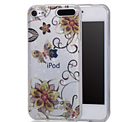 cheap -Case For iTouch 5/6 with Stand IMD Pattern Full Body Cases Hard