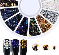 Недорогие -Украшения для ногтей Гель для ногтей Роскошь Аксессуары Мода Высокое качество Повседневные Дизайн ногтей