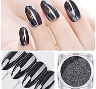 cheap -1pc Glitters Mirror Effect Sparkle & Shine Nail Glitter Glitter Powder Powder Nail Art Design