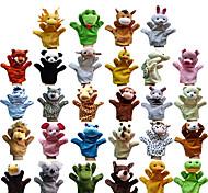 Недорогие -Пальцевая кукла Марионетки Пальцевые куклы Игрушки Rabbit Поросенок Милый стиль Животные Милый Плюшевая ткань Плюш Для детей Куски