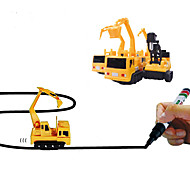 cheap -Truck Toy Truck Construction Vehicle Magic Inductive Car Toy Car Hand-made Strange Toys Soft Plastic Boys' Kid's Adults' Toy Gift