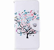 cheap -Case For Nokia Nokia 8 Nokia 6 Card Holder Wallet with Stand Flip Pattern Full Body Cases Tree Hard PU Leather for Nokia 8 Nokia 6 Nokia