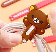abordables -organisateur de câble de gestion de câble abs iphone 8 plus / 7 plus / 6s plus / 6 plus
