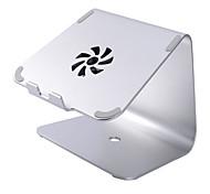 Недорогие -Устойчивый стенд для ноутбука Macbook Другое для ноутбука Подставка с охлаждающим вентилятором Алюминий Macbook Другое для ноутбука