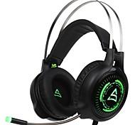 baratos -Supsoo G815 Bandana Com Fio Fones Dinâmico Plástico Games Fone de ouvido Com Microfone Fone de ouvido