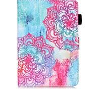 cheap -Case For Samsung Galaxy Tab S2 9.7 Card Holder Wallet with Stand Pattern Auto Sleep/Wake Up Full Body Cases Mandala Hard PU Leather for