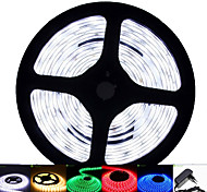 abordables -SENCART Tiras LED Flexibles 120 LED Blanco Cálido Blanco Verde Amarillo Azul Rojo Control remoto Cortable Regulable Impermeable