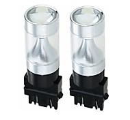 economico -SENCART 2pcs 3157 Auto / Motocicletta Lampadine 30W LED integrato 1200lm 6 Lampadine LED luci esterne For Universali Tutti gli anni