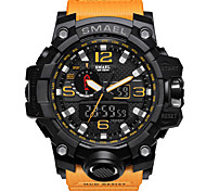 cheap -SMAEL Men's Digital Wrist Watch / Bracelet Watch / Military Watch / Sport Watch Alarm / Calendar / date / day / Water Resistant / Water