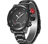 Недорогие -Муж. Все электронные часы Нарядные часы Модные часы Японский Кварцевый Календарь Защита от влаги Повседневные часы Фосфоресцирующий