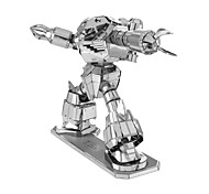 cheap -3D Puzzles Metal Puzzles Creative Focus Toy Hand-made Metal Military Standing Style Toy Girls' Boys' Gift