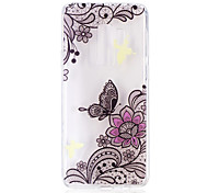 cheap -Case For Samsung Galaxy S9 S9 Plus Pattern Back Cover Butterfly Lace Printing Soft TPU for S9 Plus S9 S8 Plus S8 S7 edge S7 S6 edge S6