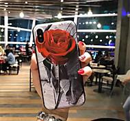 abordables -Funda Para Apple iPhone X iPhone 7 Plus Diseños Funda Trasera Pintura Suave TPU para iPhone X iPhone 8 Plus iPhone 8 iPhone 7 Plus iPhone