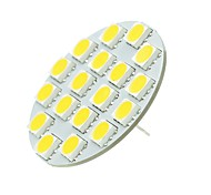 abordables -SENCART 1pc 5W 540lm G4 Luces LED de Doble Pin T 18 Cuentas LED SMD 5730 Decorativa Blanco Cálido Blanco Fresco 12-24V