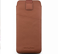 cheap -Case For Samsung Galaxy A7(2018) A7(2017) Card Holder Shockproof Pouch Bag Solid Color Soft Genuine Leather for C5