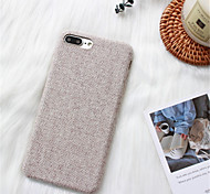 cheap -Case For Apple iPhone X iPhone 7 Plus Pattern Back Cover Solid Color Hard PC for iPhone X iPhone 8 Plus iPhone 8 iPhone 7 Plus iPhone 7