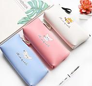 cheap -Pencil Cases Blue Pink Purple, Composite materials Novelty Organization /