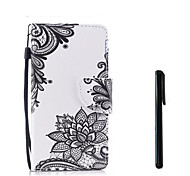 cheap -Case For Huawei P10 Plus P10 Lite Card Holder Wallet Flip Full Body Cases Flower Hard PU Leather for P10 Plus P10 Lite P10 Huawei P9 Lite