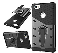 cheap -Case For Xiaomi Redmi Note 5A Shockproof with Stand Back Cover Armor Hard PC for Xiaomi Redmi Note 5A