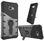 cheap -Case For Samsung Galaxy A5(2017) Shockproof with Stand 360° Rotation Back Cover Armor Hard PC for A5(2017)