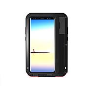 Недорогие -Кейс для Назначение SSamsung Galaxy Note 8 Вода / Грязь / Надежная защита от повреждений Чехол Сплошной цвет Твердый Металл для Note 8