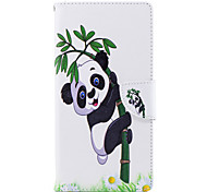 cheap -Case For Sony Xperia L2 Xperia XA2 Ultra Card Holder Wallet with Stand Flip Pattern Full Body Cases Panda Hard PU Leather for Xperia XA2