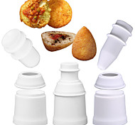Недорогие -1шт Круглый Новинки Повседневное использование Необычные гаджеты для кухни Для Райс Для приготовления пищи Посуда Многофункциональный