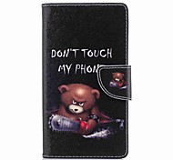 cheap -Case For Sony Xperia L2 Xperia XA2 Ultra Card Holder Wallet with Stand Flip Pattern Full Body Cases Word / Phrase Hard PU Leather for