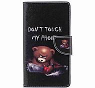 preiswerte -Hülle Für Sony Xperia L2 Xperia XA2 Ultra Kreditkartenfächer Geldbeutel mit Halterung Flipbare Hülle Muster Ganzkörper-Gehäuse Wort / Satz
