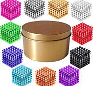 cheap -Magnet Toy Magnetic Balls Super Strong Rare-Earth Magnets 216*1   216*2   216*3pcs Magnetic Magnetic Type Professional Level DIY 3mm Cube