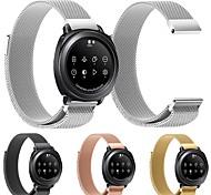 Недорогие -Ремешок для часов для Gear Sport Samsung Galaxy Спортивный ремешок Металл Повязка на запястье